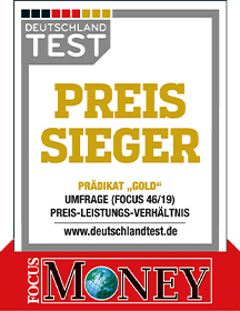 Preissieger Gold • FitGym24